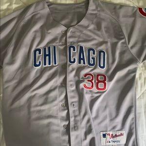 Zambrano Cubs - stitched baseball jersey